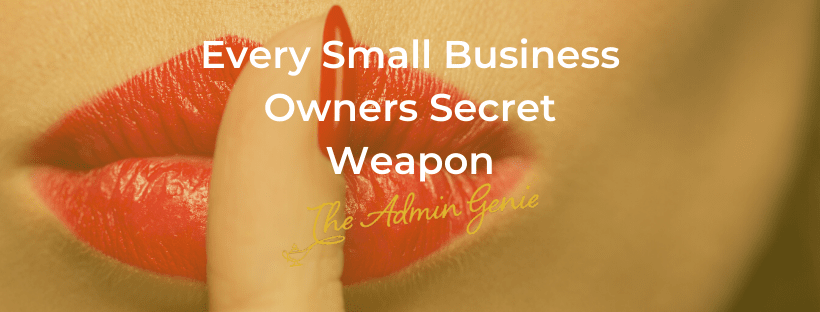 Every Small Business Owners Secret Weapon - The Admin Genie UK